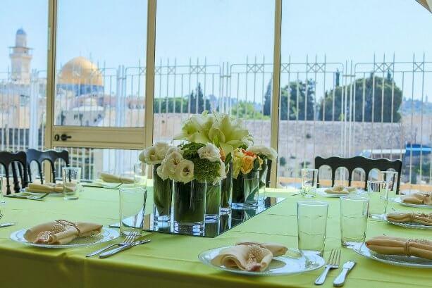 אולם שמחה בכותל - ירושלים
